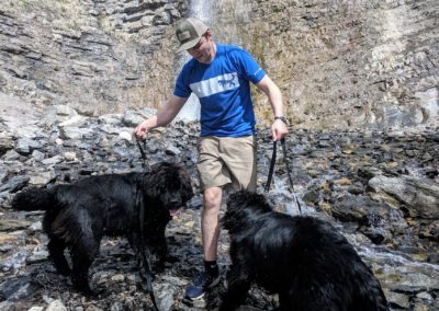 Newfies in the great outdoors
